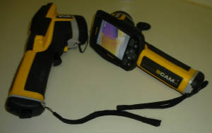 image of 2 infrared cameras